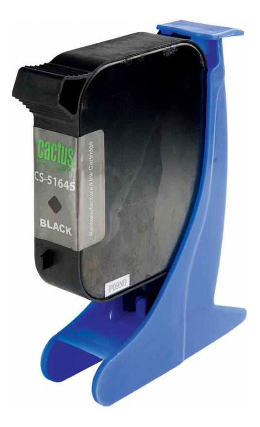 Картридж для струйного принтера Cactus CS-51645 черный