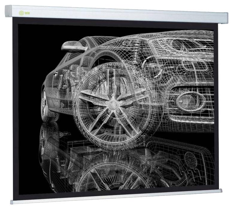 Экран для видеопроектора Cactus Wallscreen CS-PSW-213x213 Белый фото