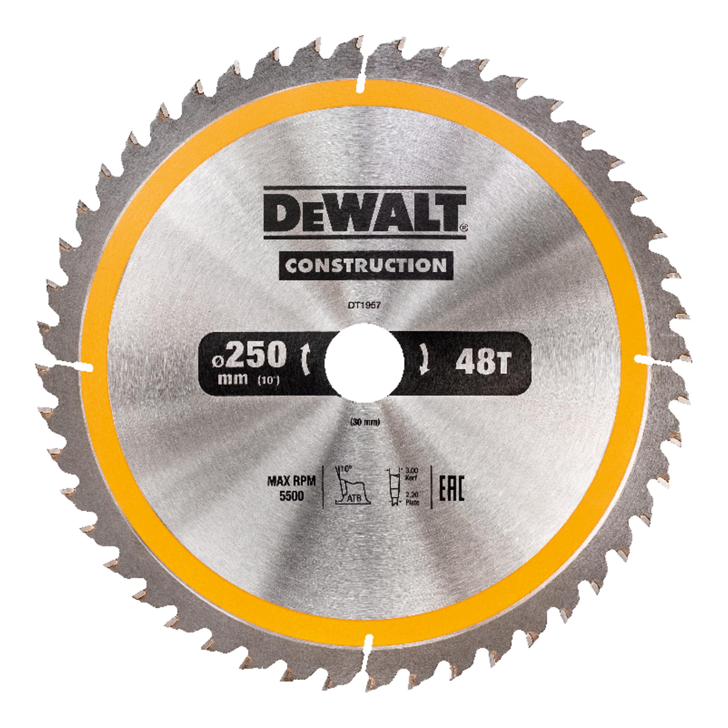 Пильный диск по дереву  DeWALT DT1957-QZ