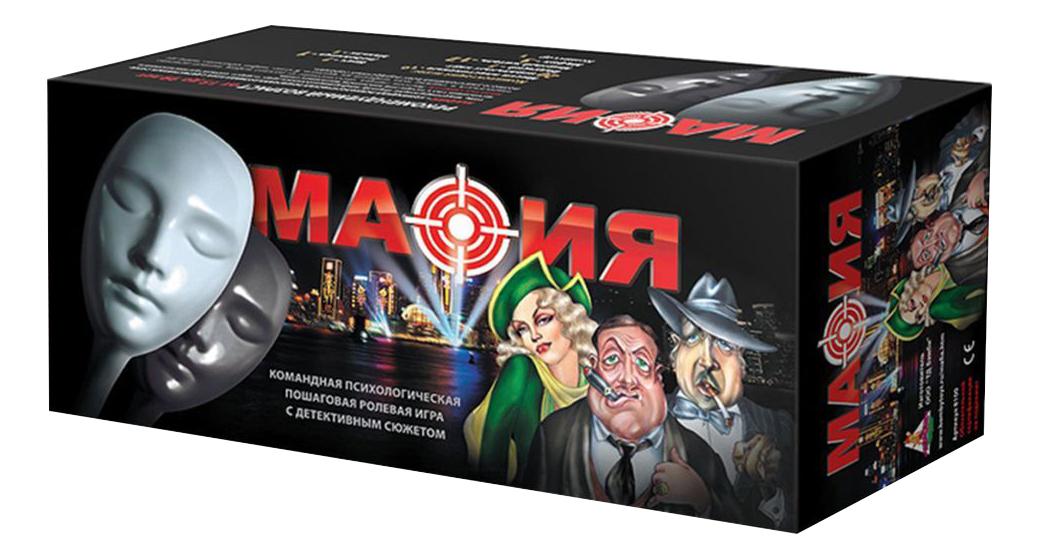 Настольная игра Нескучные игры Мафия набор с масками Бэмби