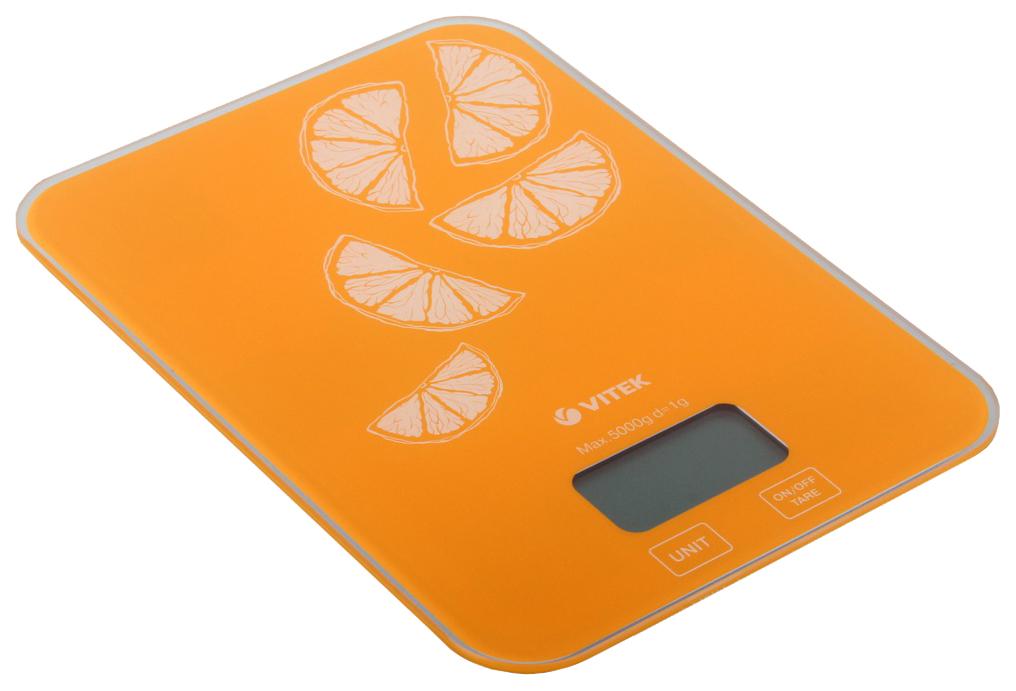 Весы кухонные Vitek VT 2416OG Оранжевый