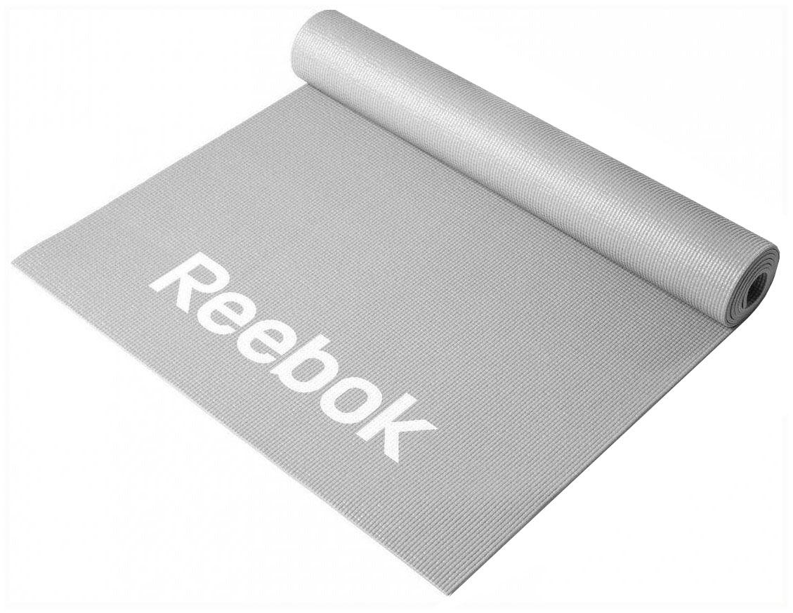 Коврик для фитнеса Reebok RAMT 11024GRL серый