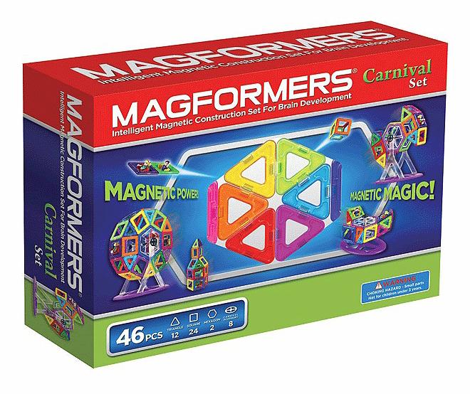 Купить Carnaval, Магнитный конструктор Magformers Карнавал, Магнитные конструкторы
