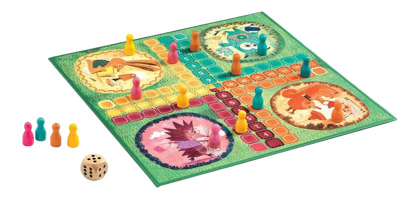 Купить Семейная настольная игра Djeco Лидо, Семейные настольные игры