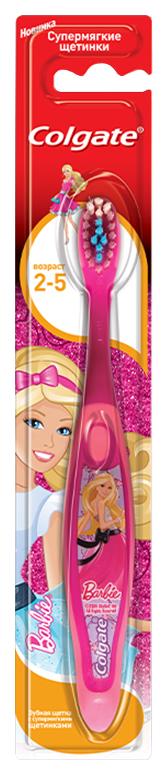 Зубная щетка Colgate Smiles Barbie/Spiderman супермягкая