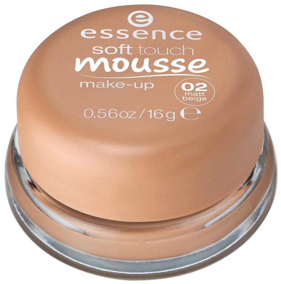 Тональный крем essence Soft Touch Mousse Make