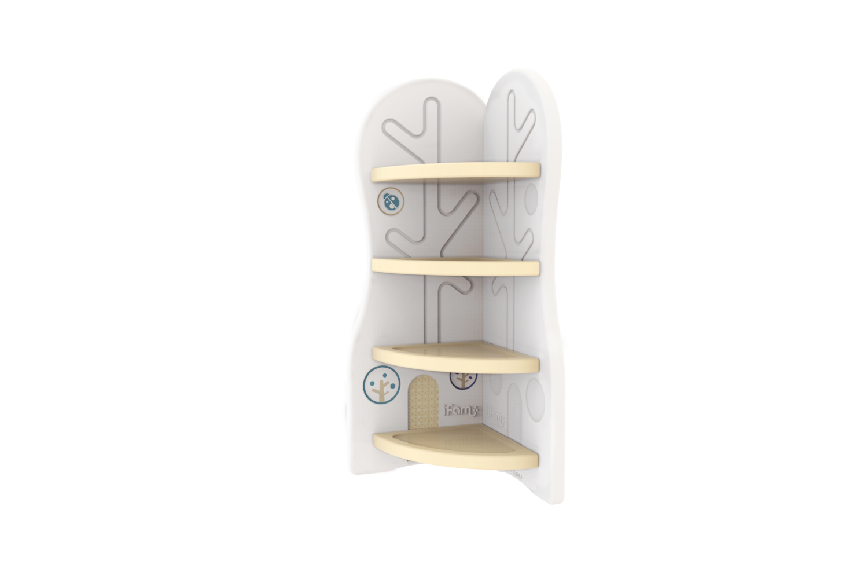 Купить Стеллаж для игрушек угловой iFam DesignToy-3 бежевый,