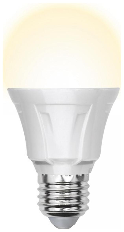 Лампа светодиодная (UL-00001523) E27 8W 4000K груша матовая LED-A60 8W/NW/E27/FR PLP01WH