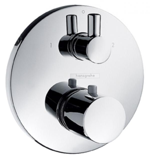 Смеситель для встраиваемой системы Hansgrohe Ecostat S 15721000 хром