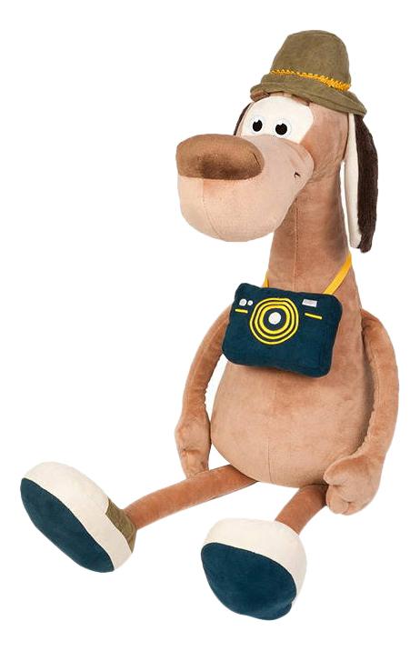 Мягкая игрушка Maxitoys Пес Барбос с Фотоаппаратом, 23 см