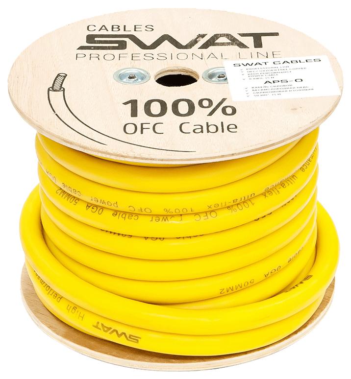 Кабель автомобильный Swat силовой кабель 0Ga