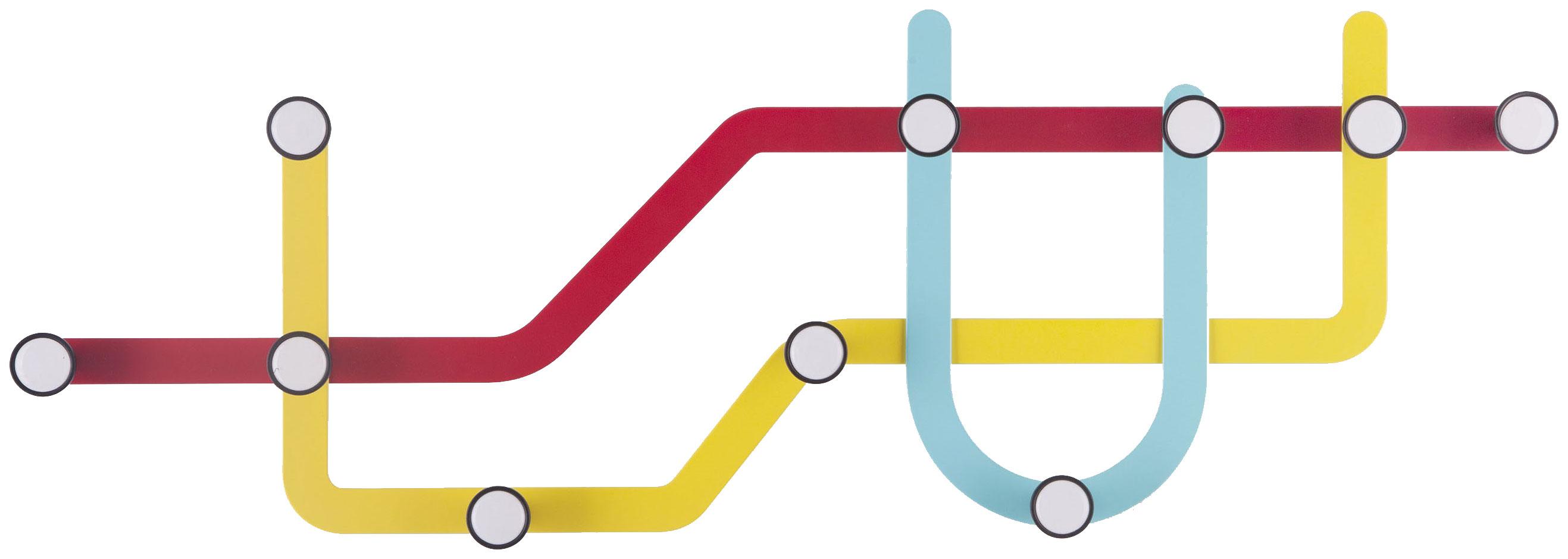 Вешалка настенная Umbra Subway 318187 370