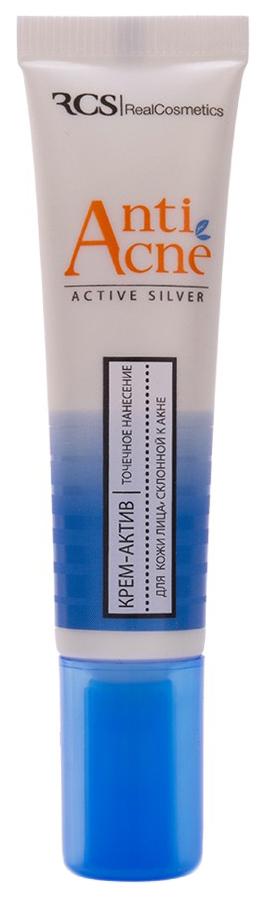 Крем для лица RCS Крем-актив для жирной и проблемной кожи лица склонной к акне 15 мл