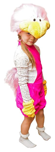 Карнавальный костюм Бока Страус розовый 1606 рост