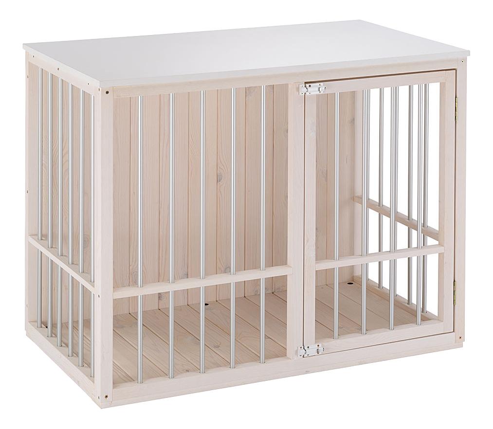 Клетка для собак ferplast 100,5x59x82,5 дерево