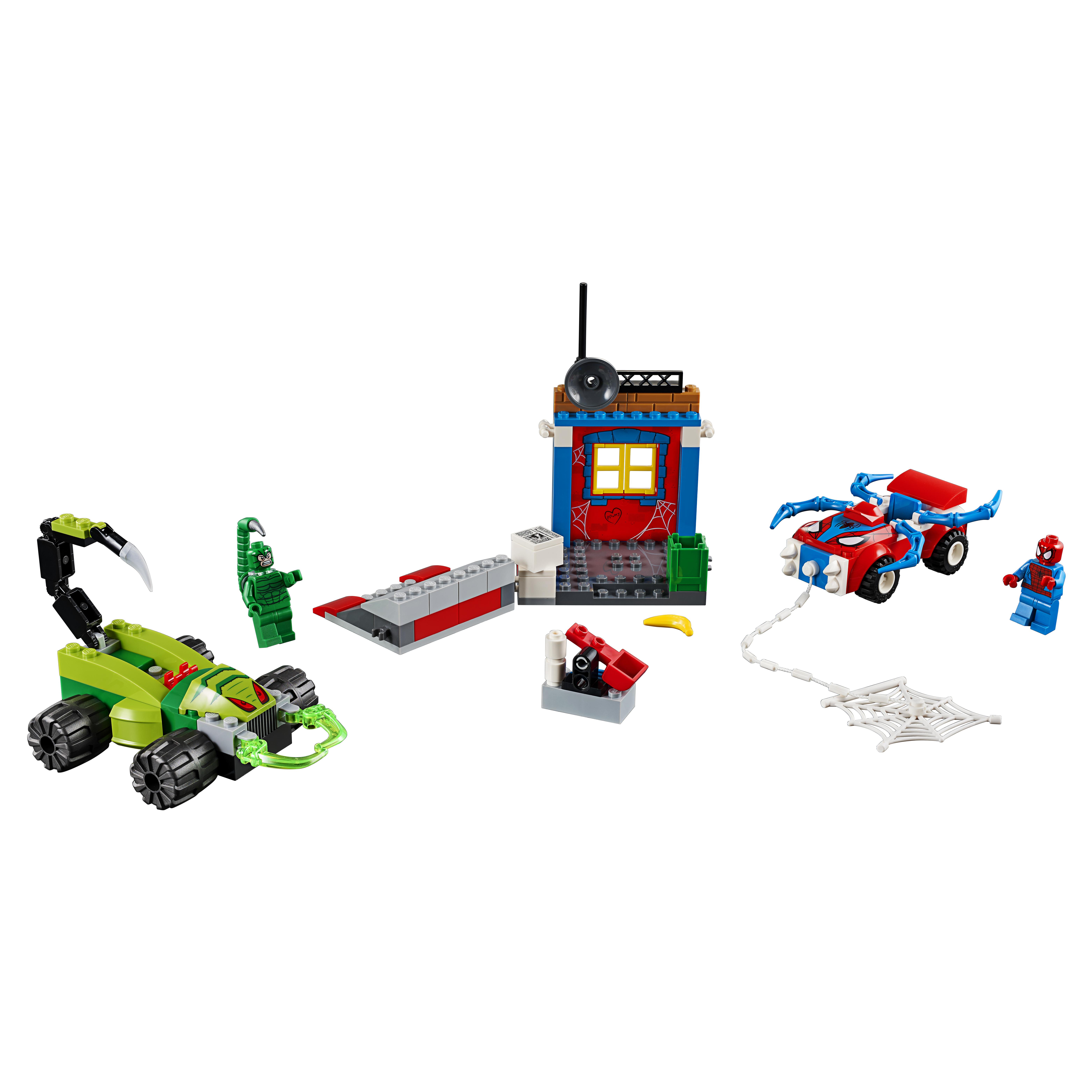 Купить Конструктор lego juniors решающий бой человека-паука против скорпиона (10754), Конструктор LEGO Juniors Решающий бой Человека-паука против Скорпиона (10754), LEGO для мальчиков