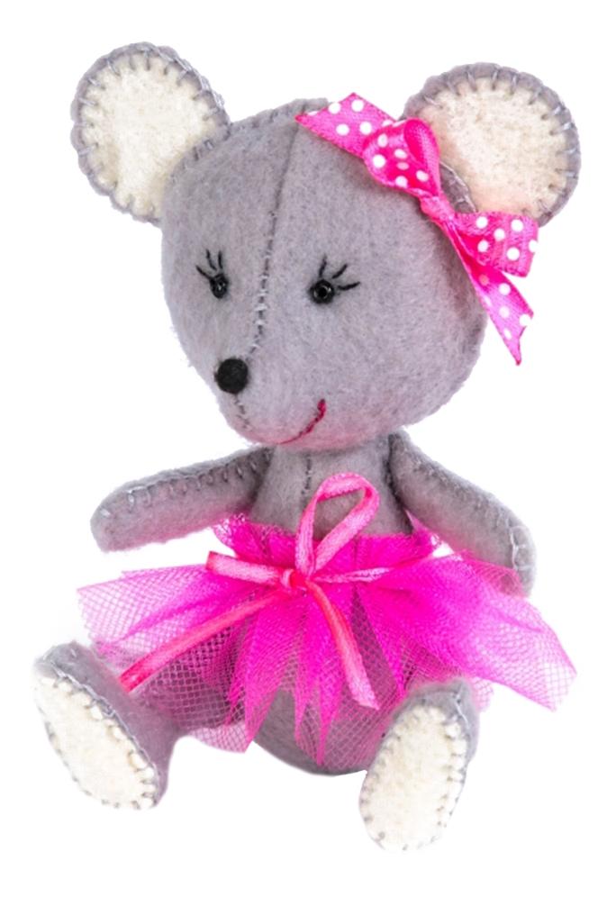 Купить Поделка Перловка Текстильная игрушка мышка, Рукоделие