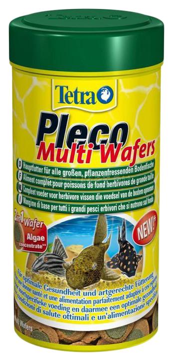Корм для сомов Tetra Pleco Algae Wafers, чипсы,