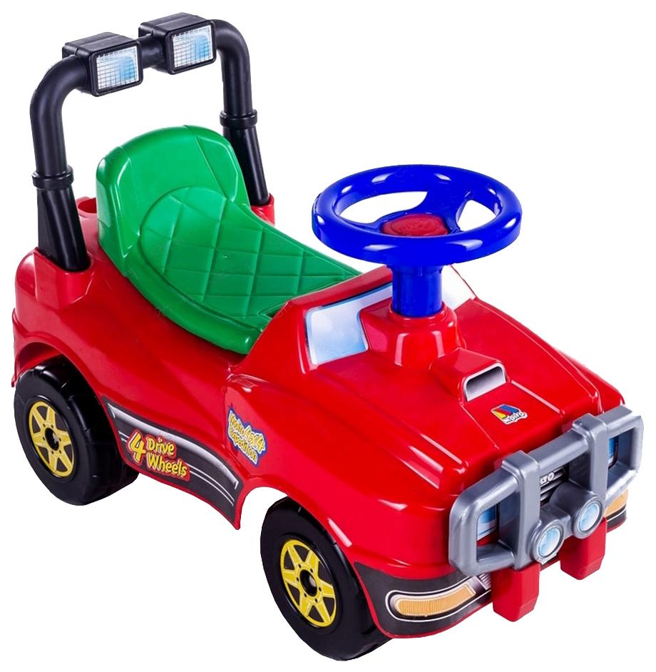 Каталка Полесье автомобиль Джип красный