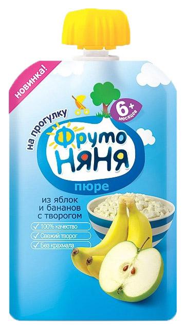 Пюре фруктовое ФрутоНяня Яблоко и банан