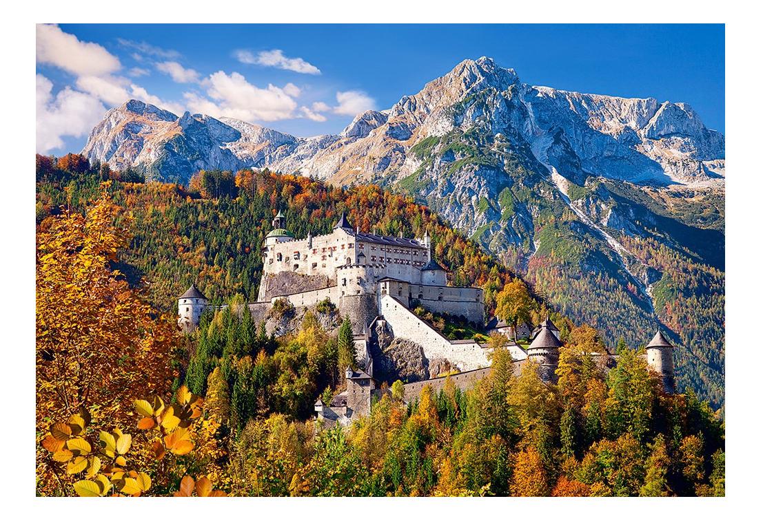 Купить Замок хоэнверфен австрия, Пазл Замок Хоэнверфен Австрия 1000 элем. Castorland Р79159, Пазлы