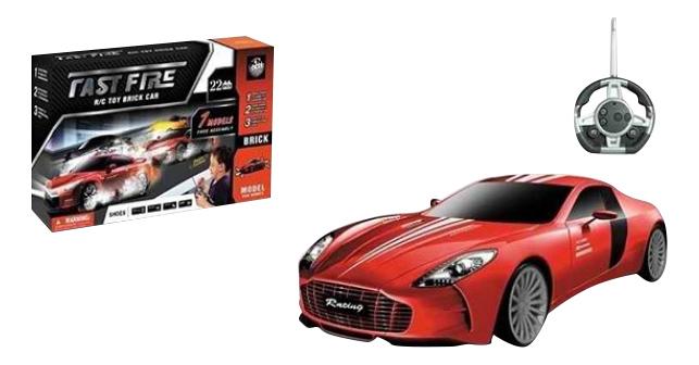 Машина-конструктор на р/у Fast Fireт красная Shenzhen Toys М63374 Машина конструктор на р у fast fireт красная М63374