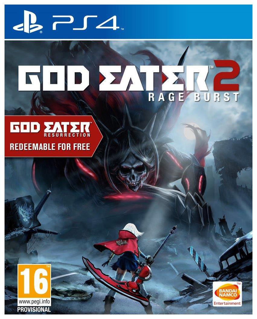Игра God Eater 2. Rage Burst для PlayStation 4 фото