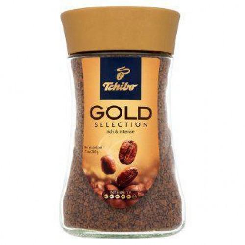 Кофе натуральный растворимый Tchibo gold selection сублимированный 47.5 г