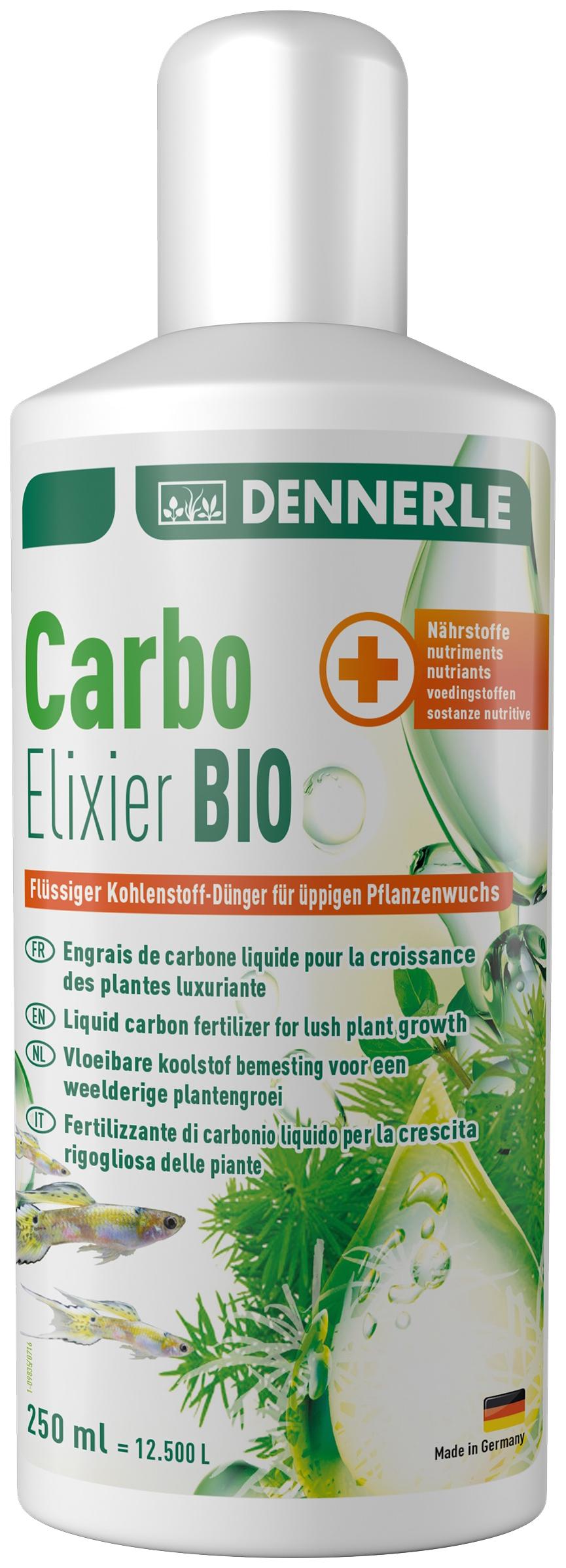 Удобрение для аквариумных растений Dennerle Carbo Elixier