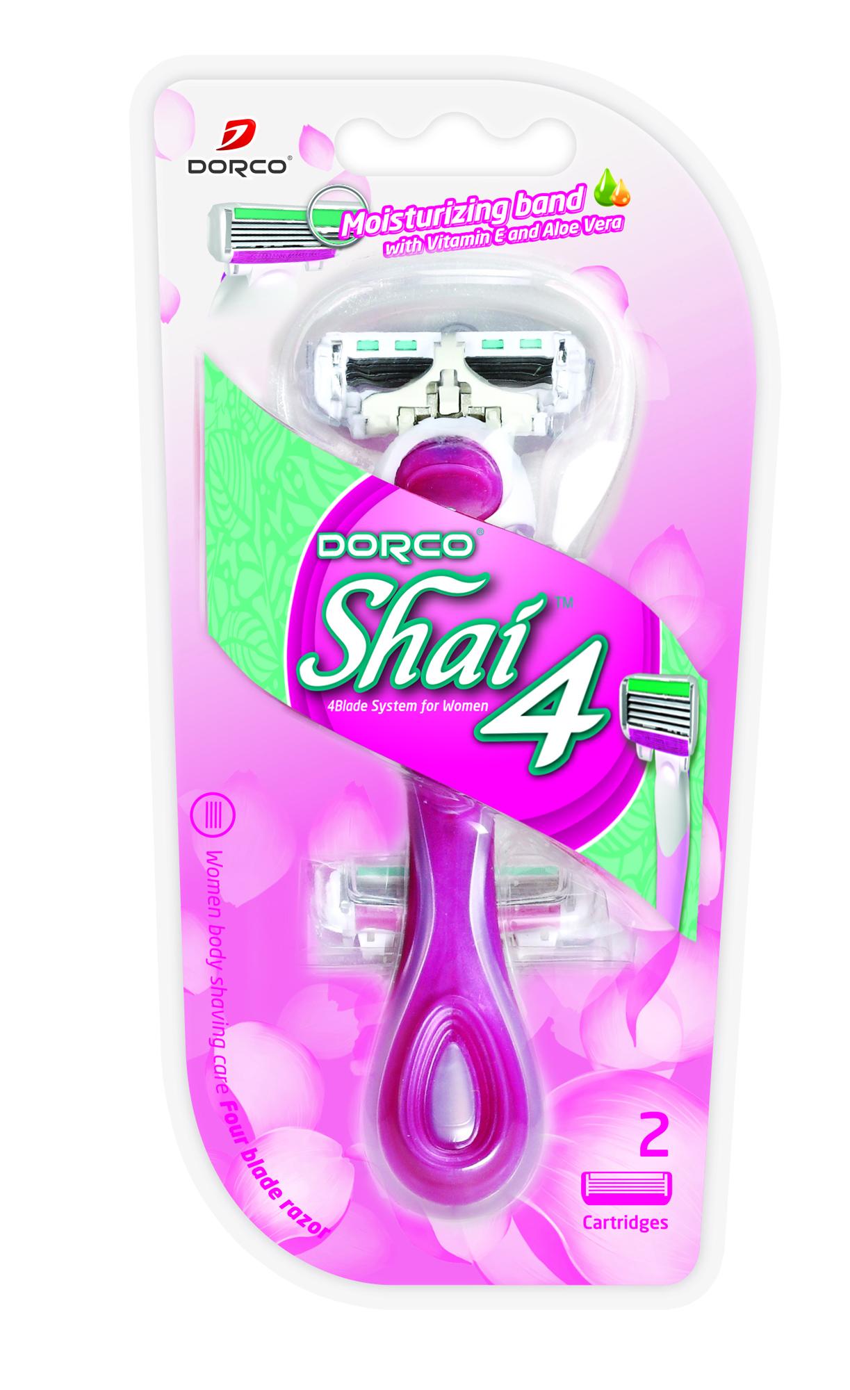 Станок для бритья со сменными кассетами Dorco Razors Shai 4.