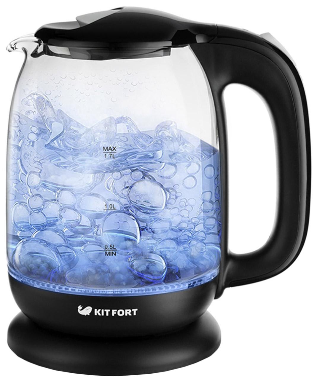 Чайник электрический Kitfort КТ-625-5 Black