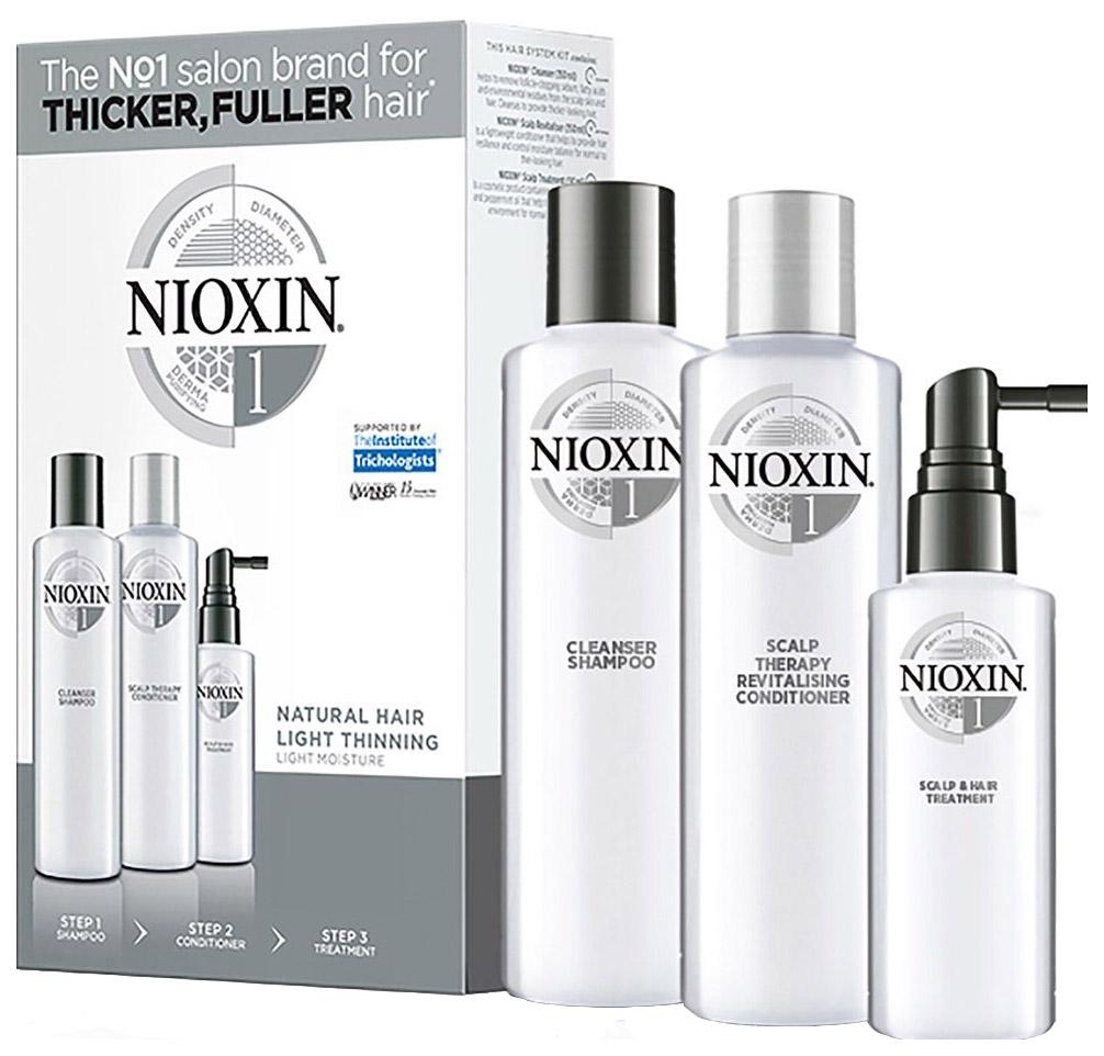 Подарочный набор Nioxin System 1 XXL 300 мл+300