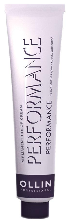 Краска для волос Ollin Professional Performance 7/09 Русый прозрачно-зеленый 60 мл