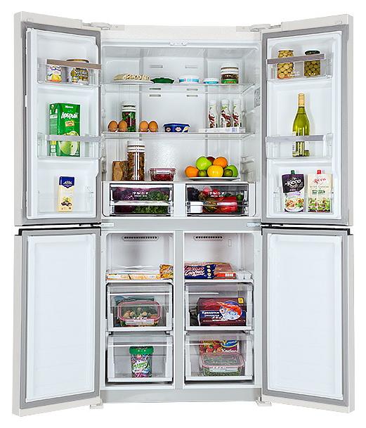 Холодильник Hiberg RFQ 490DX NFW White