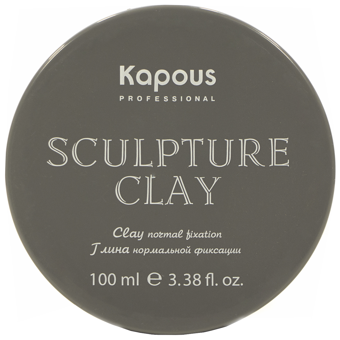 Глина для укладки волос нормальной фиксации Kapous Professional Sculpture Clay 100 мл
