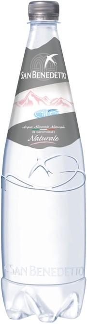 Вода питьевая San Benedetto негазированная пластик 1 л 6 штук в упаковке фото