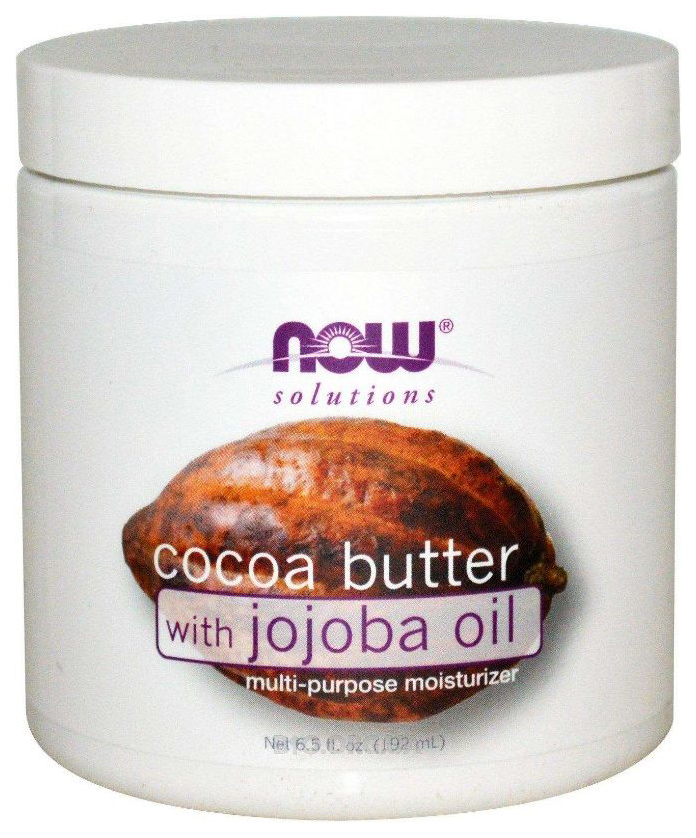 Масло для тела Now Foods Cocoa Butter With Jojoba Oil, 192 мл фото