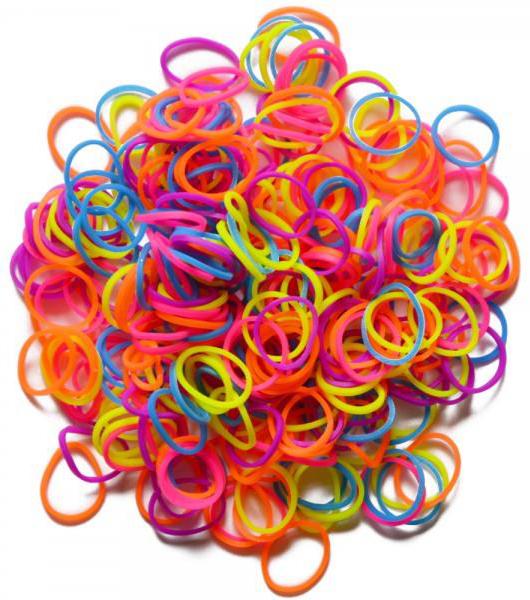 Резиночки для плетения браслетов Rainbow Loom Неон микс RAINBOW LOOM B0071