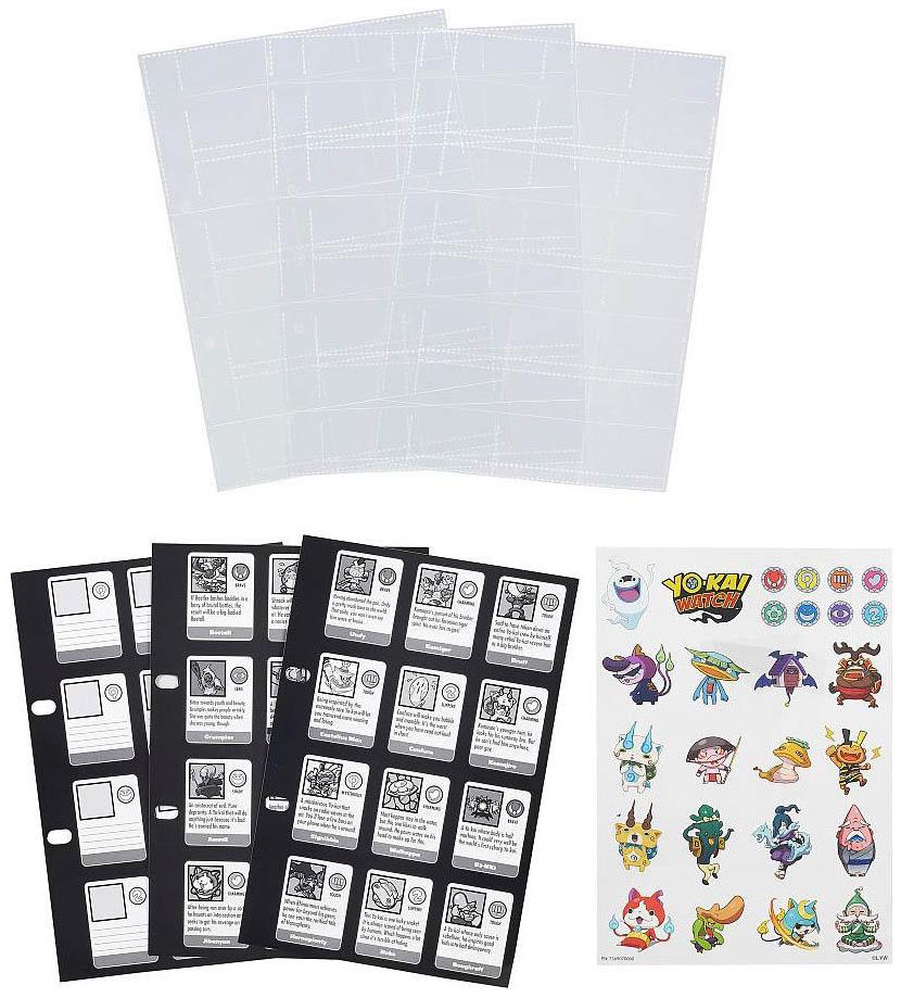 Купить Yo-Kai Watch, Страницы для Альбома коллекционера Йо-Кай-Вотч, Hasbro, Книги по обучению и развитию детей