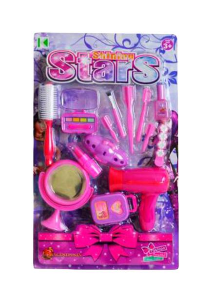 Купить Набор парикмахера игрушечный Shantou Gepai Стилист KZ-2499AB, Детские наборы парикмахера