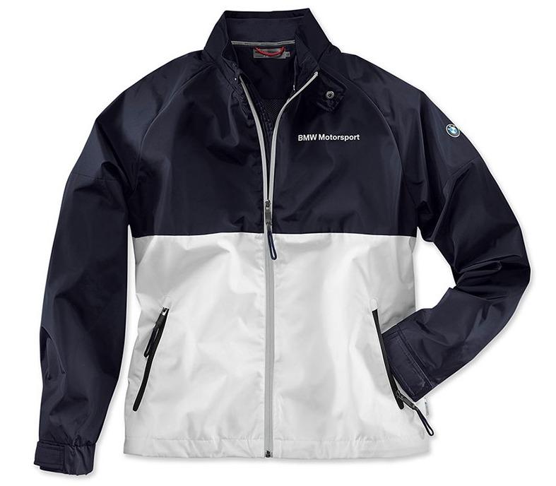 Мужская куртка BMW Motorsport 80142446441 White/Team Blue