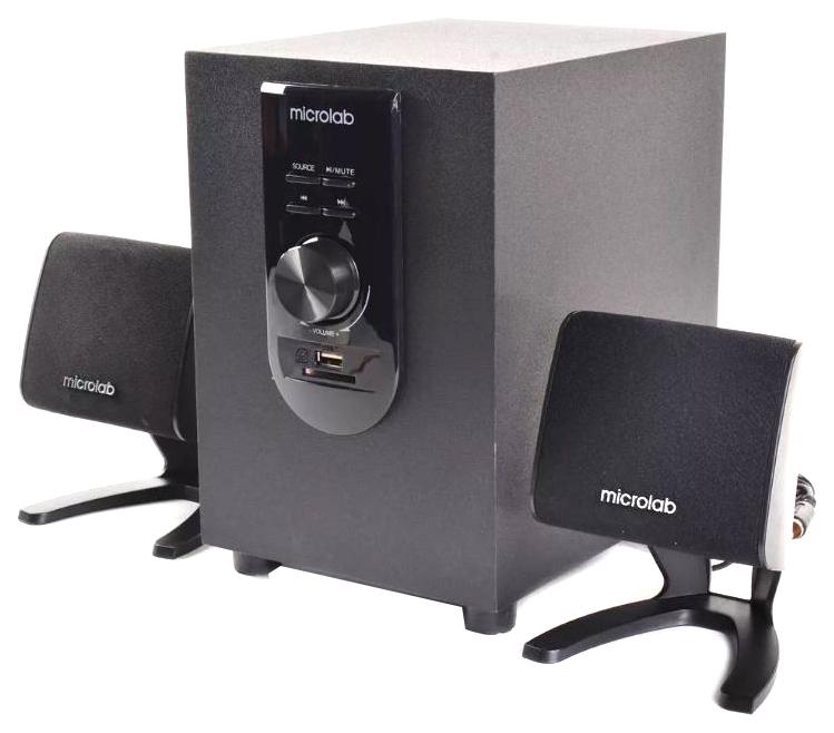 Акустическая система 2.1 Microlab M 108U, Черный