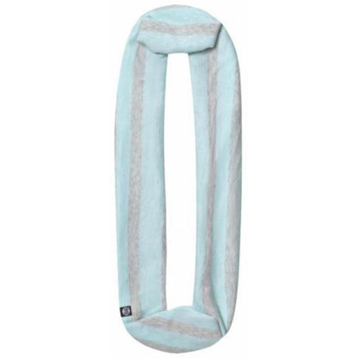 Шарф Buff Cotton Infinity голубой One Size
