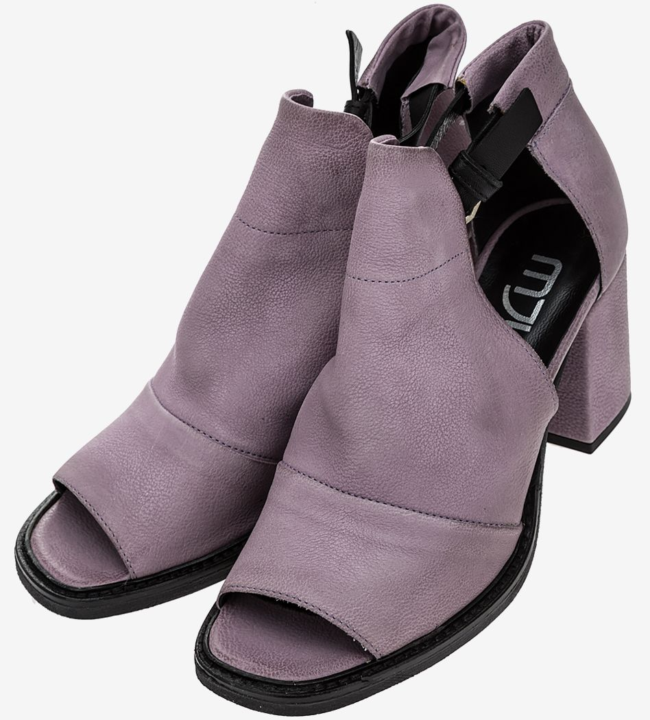 Босоножки женские MJUS фиолетовые