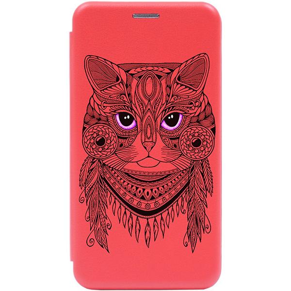 Чехол Gosso Cases для Xiaomi Mi A3 / CC9e Red «Grand Cat»