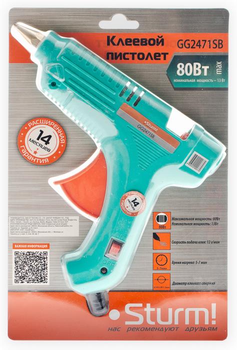 Сетевой клеевой пистолет Sturm! GG2471SB
