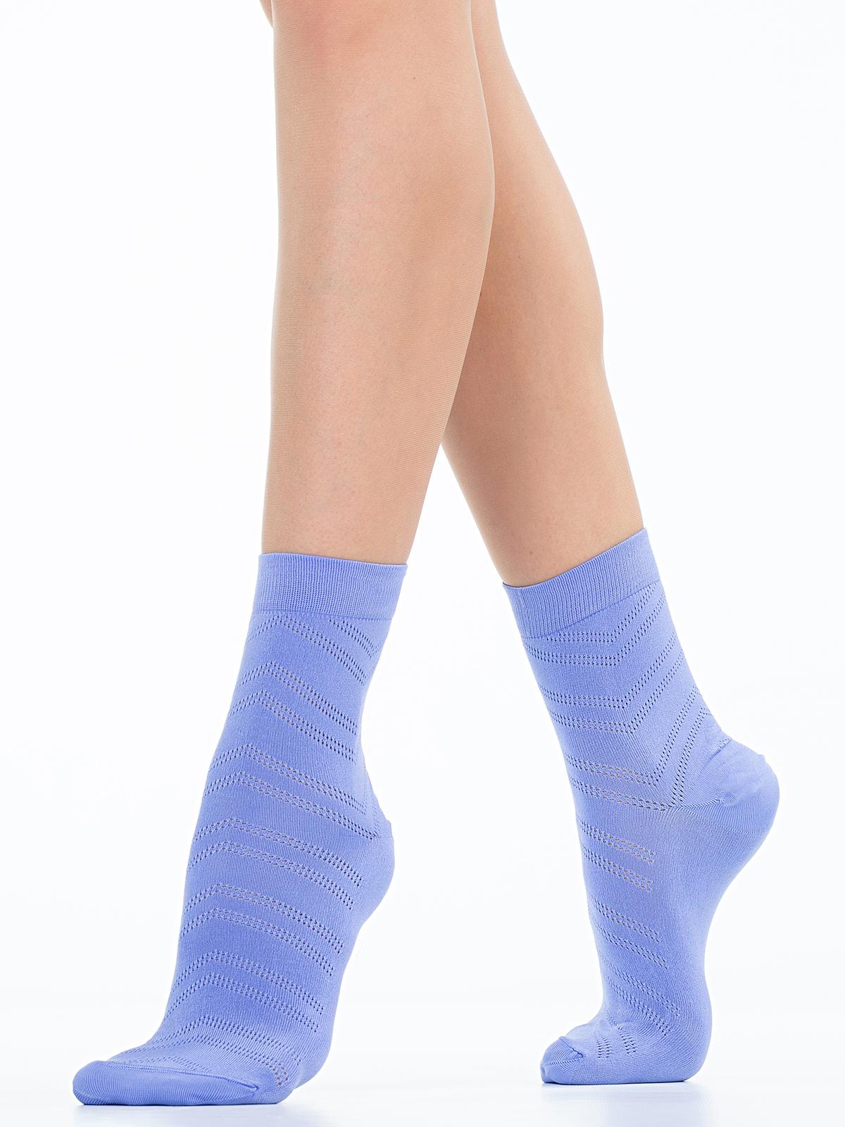 Носки женские Giulia фиолетовые 36-38