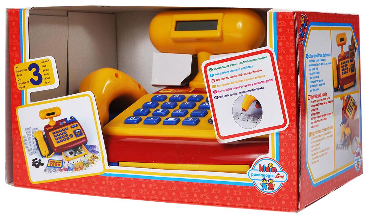 Электронная детская касса со сканером Klein