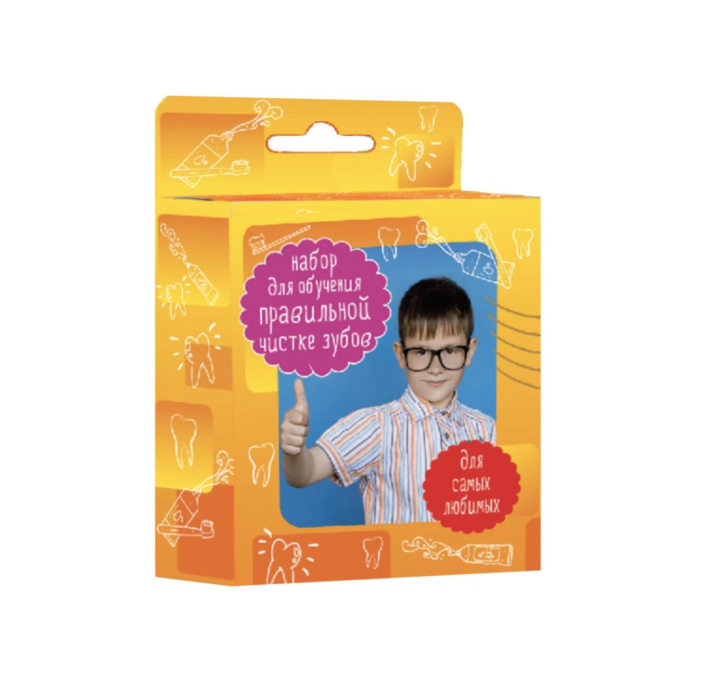 Набор для обучения детей правильной чистке зубов Hels