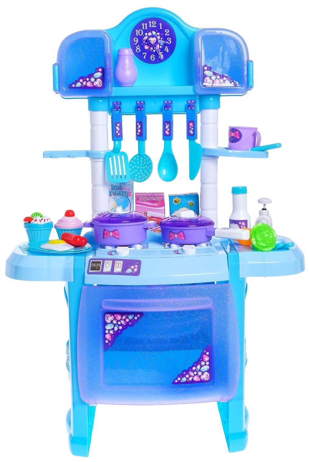 Купить Игровой модуль Волшебная кухня с аксессуарами, световые и звуковые эффекты Happy Valley, Детская кухня
